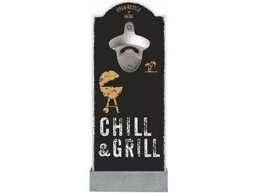 Flaschenöffner »Chill & Grill«, schwarz, Contento
