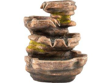 Zimmer-Brunnen  »Cascade«, braun, Material Polyresin, Yourhome