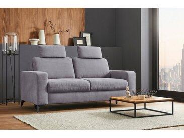2,5-Sitzer , mit Federkern, auch mit abwischbarem Bezug »Lolland«, 183x88x88 cm (BxHxT), 2-Sitzer, Wahlweise mit Bettfunktion und Bettkasten, mit Federkern, Places of Style