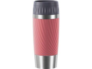Thermobecher »Tavel Mug Easy Twist«, rosa, Material Edelstahl, Emsa