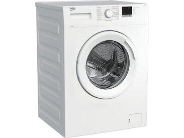 BEKO Waschmaschine WML61223N1, 6 kg, 1200 U/min, LED-Display, Energieeffizienz: E