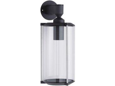 Außen-Wandleuchte »House Klassik kurz E27 Klarglas/Grau«, transparent, Material Klarglas, Paulmann