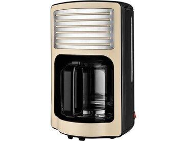 Filterkaffeemaschine RETRO Kaffeeautomat TKG CM 2500 B, beige, Team Kalorik