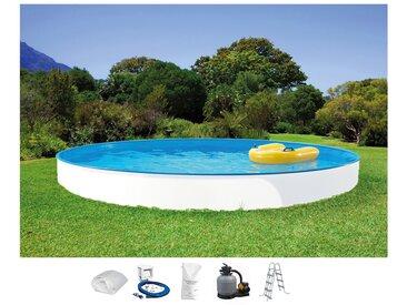 Rundpool »Standard«, Material PVC / Kunststoff, Clear Pool