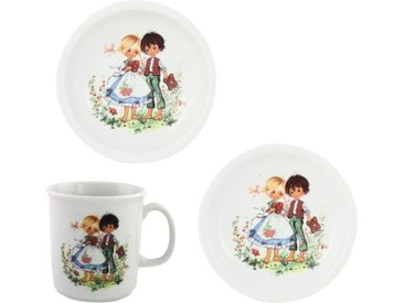 Kindergeschirr-Set »Hänsel & Gretel«, mehrfarbig, Material Porzellan, Eschenbach, Motiv, spülmaschinenfest