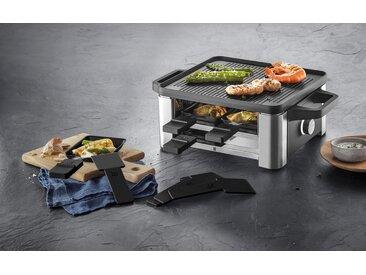 WMF Raclette-Grill LONO for 4, 4 Raclettepfännchen, 870 W