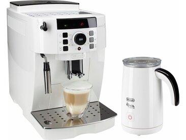 De'Longhi Kaffee-Vollautomat ECAM 21.118.W, inkl. Milchaufschäumer im Wert von UVP 89,99