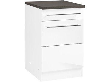 Unterschrank »Trient«, 50x85x60 cm (BxHxT), Held Möbel, weiß, Material Metall