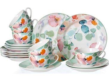 Kaffeeservice, mehrfarbig, Material Porzellan »Celine«, Ritzenhoff & Breker, spülmaschinengeeignet