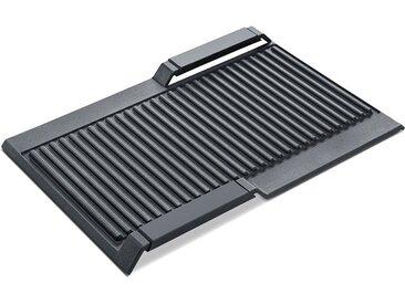 SIEMENS Grillplatte »HZ390522«, grau, Spülmaschinengeeignet, , , spülmaschinengeeignet