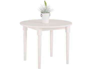 Home affaire  Ess-Tisch , Landhaus-Stil, weiß, Material Kiefer »Jan«