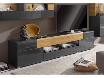 Lowboard, FSC®-zertifiziert, grau »Toledo«, Trendmanufaktur