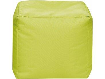 Sitz-Sack  »Cube SCUBA«, grün, Material Polystyrol / Polyester, Sitting Point