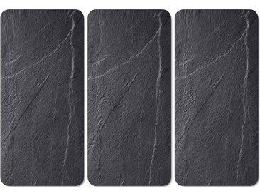 Abdeckplatte, schwarz »Schiefer-Optik«, KESPER for kitchen & home