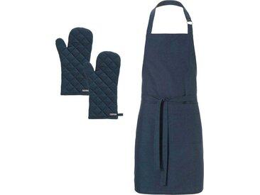 Kochschürze »Kit«, blau, hochwertig, , , DDDDD