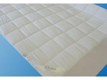 Matratzenauflage »Unterbett Superflausch«, allergikergeeignet, weiß, Material Polyester / Microfaser, Dreams