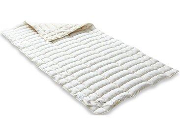 Matratzen Auflage , weiß »Unterbett Merino Perkal«, Badenia Trendline