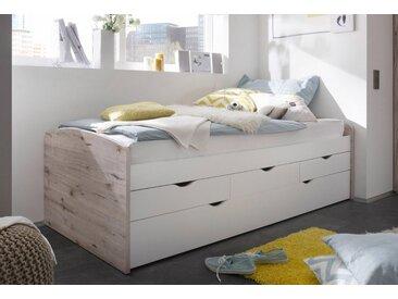 Funktionsbett, 90x201 cm, beige, Yourhome