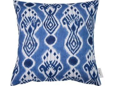 Kissenbezug , 1x 45x45 cm, blau »Chandelier«, TOM TAILOR, Gemustert