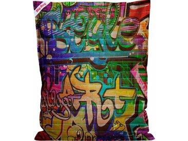 Sitz-Sack  »BigBag Graffiti«, mehrfarbig, Material Polystyrol, Sitting Point