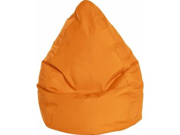Sitz-Sack  »BRAVAL L«, orange, Material Polystyrol / Polyester, Sitting Point»BRAVAL L«