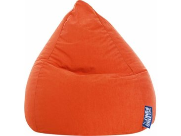 Sitz-Sack  »EASY L«, orange, Material Polystyrol / Polyester, Sitting Point