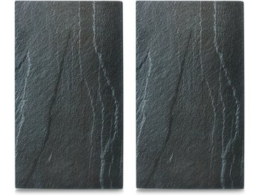 Abdeckplatte »Schiefer«, schwarz, Zeller Present