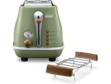 Toaster, grün »CTOV 2103.BG«, De'Longhi