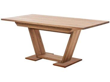Säulenesstisch »Palma«, 160x75x90 cm (BxHxT), FSC®-zertifiziert, SCHÖSSWENDER, Material Massivholz