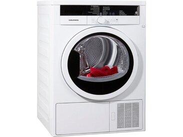 Wärmepumpentrockner GTA38261G, weiß, rund, Energieeffizienzklasse: A+++, Grundig