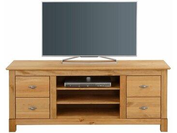 Home affaire  TV-Schrank  »Rauna«, Landhaus-Stil, FSC®-zertifiziert, beige, Material Massivholz