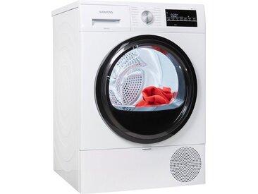 Wärmepumpentrockner, 59.8x84.2x59.9 cm (BxHxT), Energieeffizienzklasse A+++, SIEMENS, Material Baumwolle, Wolle