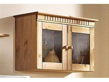 Hängevitrine, Landhaus-Stil, FSC®-zertifiziert, Home affaire, beige, Material Kiefer