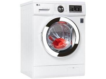 LG Waschmaschine,  Fassungsvermögen7 kg, Energieeffizienzklasse A+++, weiß