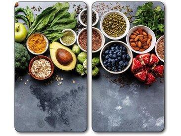 Schneide- und Abdeckplatte , grau, »Healthy Kitchen«, KESPER for kitchen & home