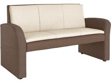 Polsterbank, 162x89x67 cm (BxHxT), FSC®-zertifiziert, exxpo - sofa fashion, braun, Material Holzwerkstoff