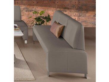 exxpo - sofa fashion Polsterbank, FSC®-zertifiziert, grau