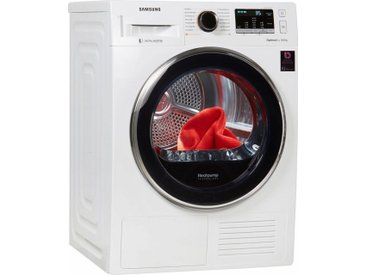 Wärmepumpentrockner DV5500 DV81M5210QW/EG, weiß, Energieeffizienzklasse: A+++, Samsung