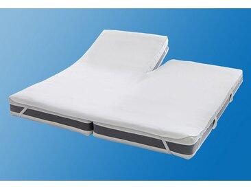 Matratzen Auflage , weiß, Material Baumwolle »Split«, SETEX