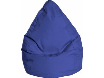 Sitz-Sack  »BRAVAL L«, B/T/H: 70x70x120 cm, blau, Material Polystyrol / Polyester, Sitting Point