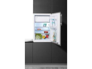 Amica Einbaukühlschrank EKS 361 190 E, 87,5 cm hoch, 56 cm breit, mit Edelstahltür, Energieeffizienz: A++