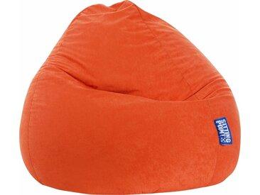 Sitz-Sack  »EASY XXL«, orange, Material Polystyrol / Polyester, Sitting Point
