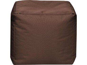 Sitz-Sack  »Cube SCUBA«, braun, Material Polystyrol / Polyester, Sitting Point