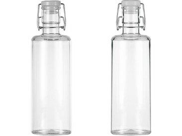 Q Squared NYC Whiskyglas (4-tlg), inkl. Karaffe, aus sicherem Material - TRITAN-Kunststoff
