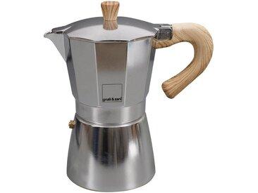 Espresso-Kocher Venezia, silber, Material Aluminium / Edelstahl, gnali & zani