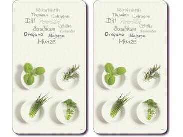 Abdeckplatte »Kräuter«, weiß, KESPER for kitchen & home