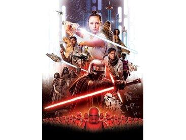 Komar Foto-Tapete »STAR WARS EP9 Movie Poster Rey«, glatt, bedruckt, Comic, (Packung), ausgezeichnet lichtbeständig