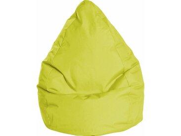 Sitz-Sack  »BRAVAL L«, B/T/H: 70x70x120 cm, grün, Material Polystyrol / Polyester, Sitting Point