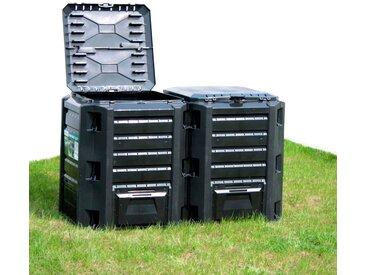 Komposter »800 l«, 72x83x135 cm (BxHxT), Prosperplast, Material Kunststoff