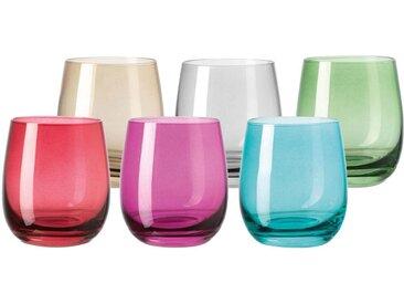 LEONARDO Glas »Sora« (6-tlg), Colori Qualität, 360 ml